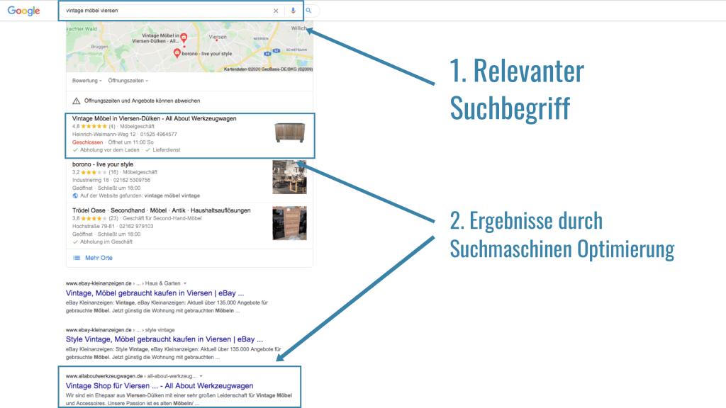 Kundenergebnisse - SEO Agentur Viersen