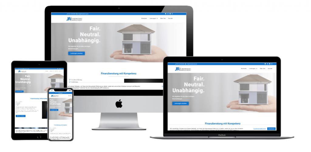 JR Finanzierung - Webdesign aus Viersen