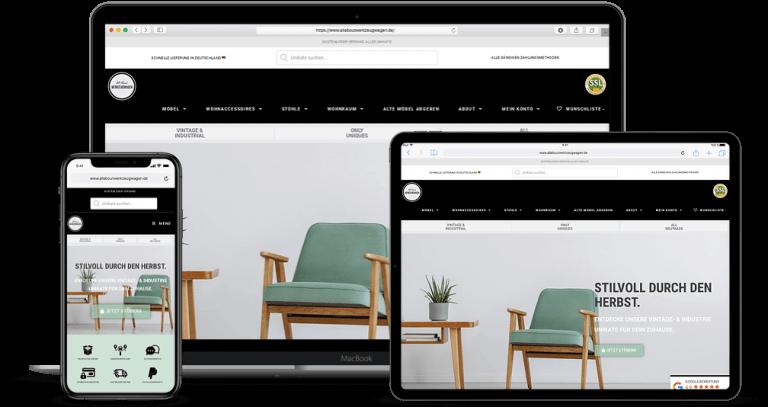 Online Shop Projekt All About Werkzeugwagen